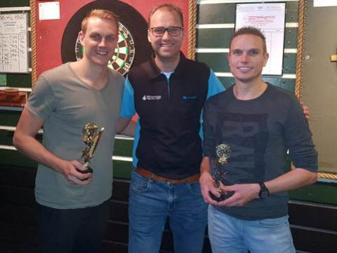 Leroy Zondervan en Gawain Commandeur winnen 'Koppel Toernooi' 2018