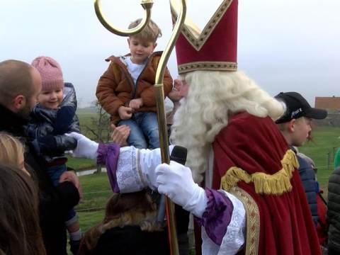 Intocht Sinterklaas in Ilpendam