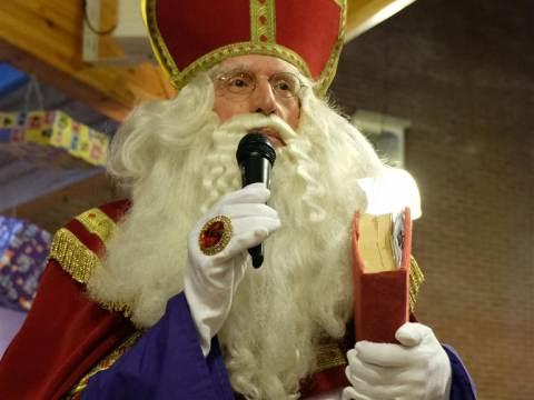 Sinterklaasfeest in Evean Swaensborch