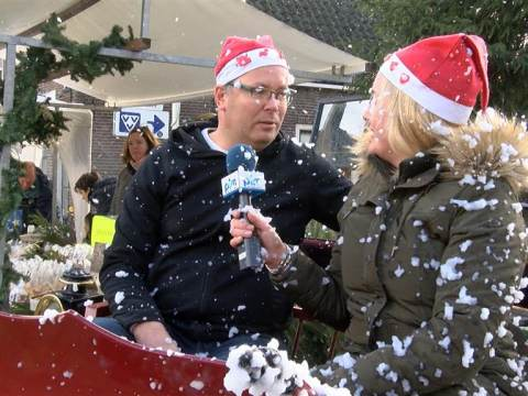 Genomineerden Ondernemersprijs op Wintermarkt Monnickendam