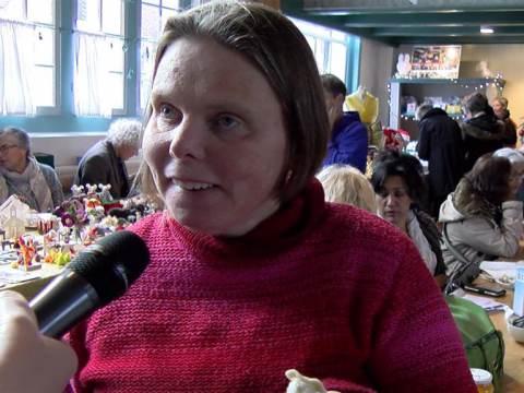 Gezellige kerstmarkt in het Weeshuis in Monnickendam