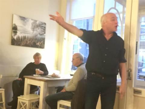 Marten Horjus vertelt sterke verhalen in Coffee en Cacao