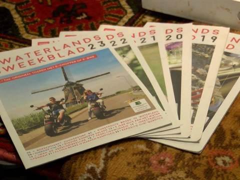 Waterlands Weekblad bestaat 1 jaar!