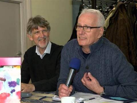 Cor Witter neemt na 27 jaar afscheid als voorzitter van Volkstuinvereniging