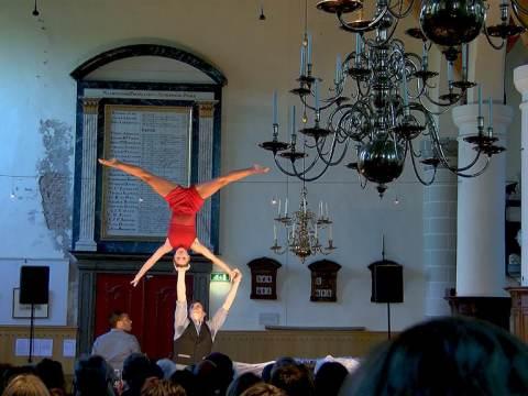 Broek genoot van professioneel Huiskamerfestival