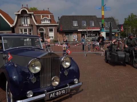 Filmopnames in Ilpendam en Watergang