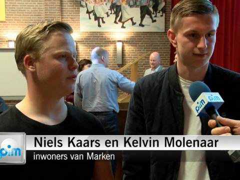 Marken voorstander van fusie met Edam/Volendam