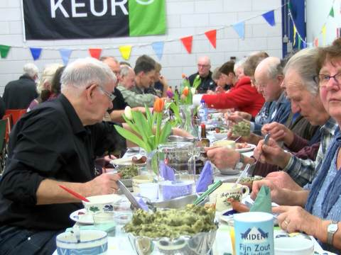Boerenkool Benefiet Diner in Overleek