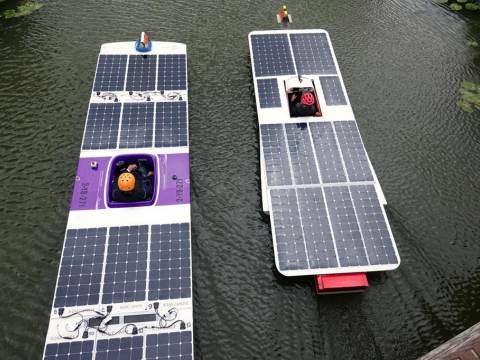 Zonnebootrace Solar Sport One is spektakel voor het hele gezin