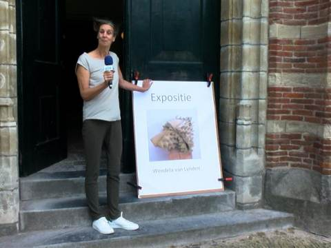 Kunstenares Wendela van Lynden exposeert in toren Grote Kerk