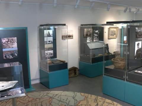 Tentoonstelling 'Boten bij de Vis' in Waterlandsmuseum De Speeltoren