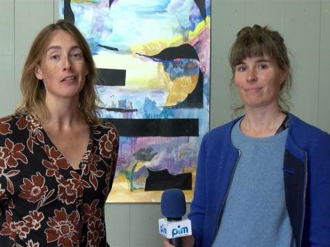 Expositie Josine Timmer en Roosmarijn Schoonewelle in de toren van de Grote Kerk