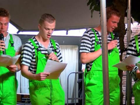 Sons of Baghwan winnen Talentenshow Broeker Feestweek