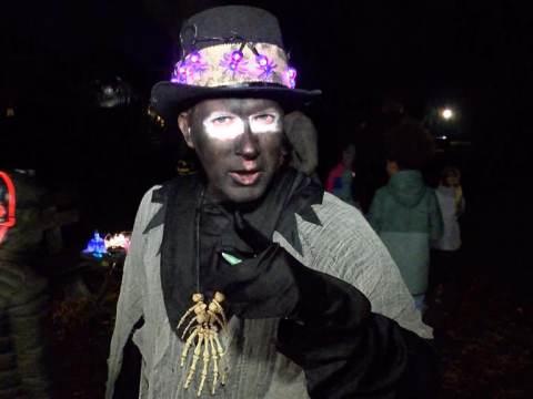 Halloween was weer 'schrikwekkend' goed