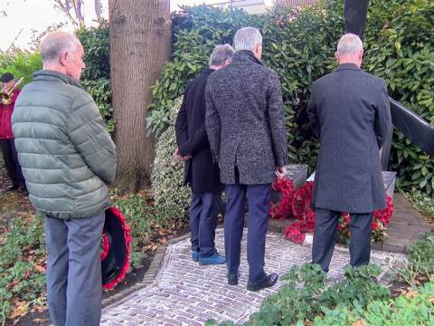 Mooie Remembrance Day 2019 in Monnickendam