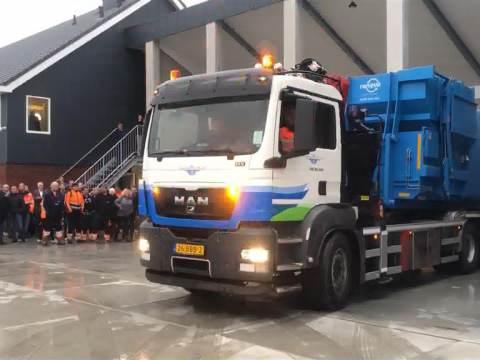 Nieuwe gemeentewerf officieel geopend