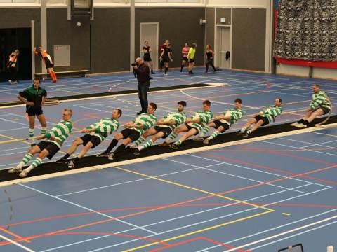 Touwtrekvereniging Monnickendam 2 keer in oranje op WK