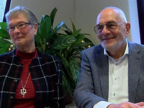 Sinds 1969 in de echt verbonden echtparen in het zonnetje gezet
