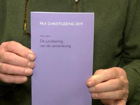 Hans Abma schreef eerste Pax Christilezing Monnickendam