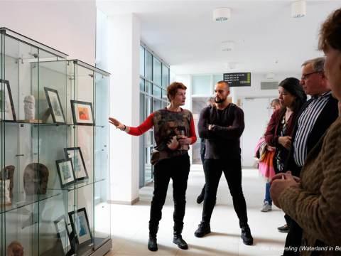 Kirsti Arntzen expositie in het Boven IJ, gast van Huis aan het Water