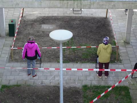 Fysiogroep Waterland laat ouderen op Marken bewegen