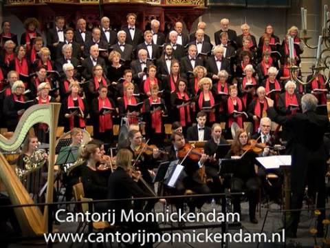 Johannes Passion van Johann Sebastian Bach op 1 april 2017 door Cantorij Monnickendam