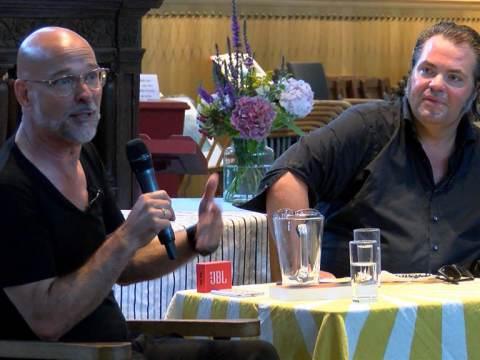 Literair café in Broek met Frank Evenblij en Rob Kamphues