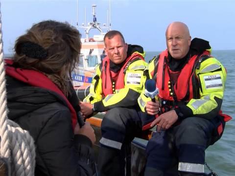 PIM met de KNRM naar berging van vliegtuig uit WO2 in Markermeer