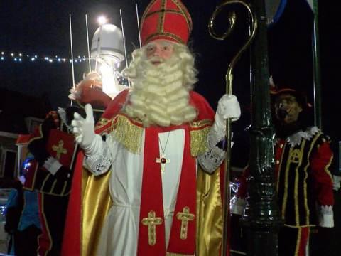 Sinterklaas weer in Waterland aangekomen