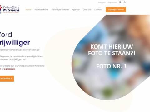 Lancering vernieuwde website Vrijwilligers Waterland