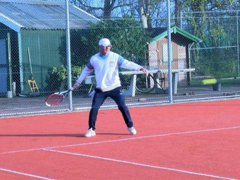 Splinternieuwe tennisbanen bij de Tennisclub Monnickendam