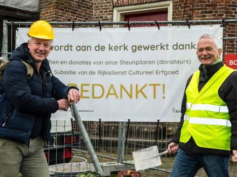 Giften maken restauratie Broekerkerk mogelijk