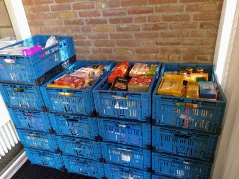 Grote opbrengst bij inzameling voedselbank