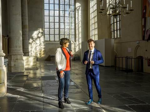 PIM in gesprek met Alexander Noordijk, de nieuwe dominee in Monnickendam