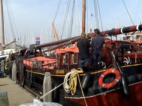Zeilvloot Monnickendam gaat verder zonder mast!
