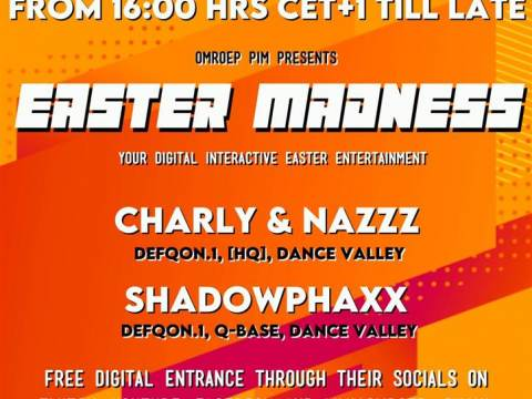 Easter Madness, powered by Omroep PIM