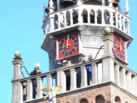 Alternatieve aubade vanaf de Speeltoren voor Koningsdag