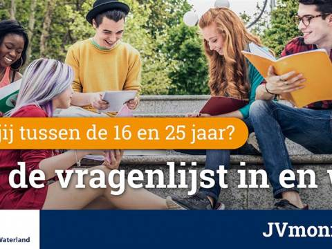 GGD Zaanstreek-Waterland zoekt ruim 2.500 jongvolwassenen voor invullen online vragenlijst!