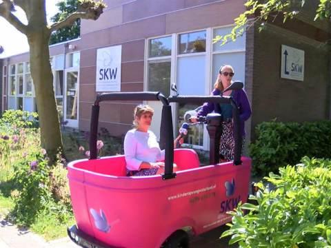 Kinderen SKW gaan weer met de BSO bus naar hun locatie