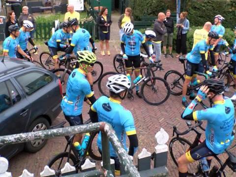 Charity Ride wielertocht voor het goede doel
