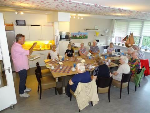 Eilandraad informeert seniorencomplex 'Voor Anker'  over 'Toekomst Marken'