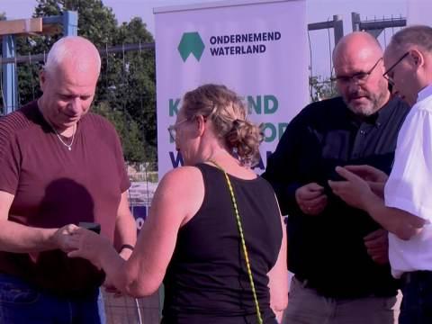 Ondernemend Waterland hield eerste live-bijeenkomst sinds tijden