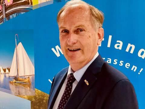 Wethouder Hendrik Boland benoemd in gemeenteraad Waterland