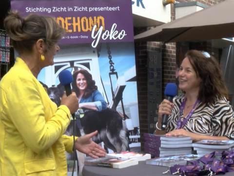 Annemiek van Munster schrijft boek over haar geleidehond Yoko