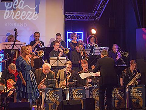 Jazz at the Mirror: Seabreeze Big Band