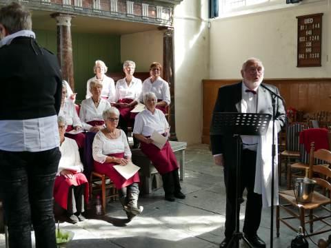 Uitverkocht Voorjaarsconcert gemengd koor Broek in Waterland